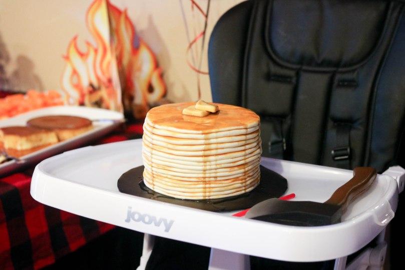 Lumberjack Pancake Cake