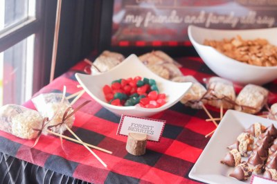 Lumberjack Sweets Table