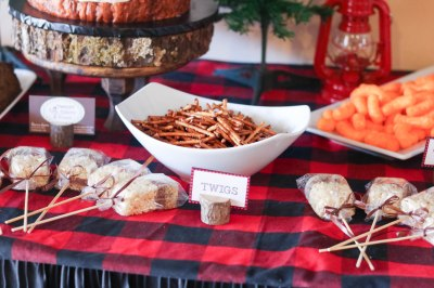Lumberjack Sweets Table_2