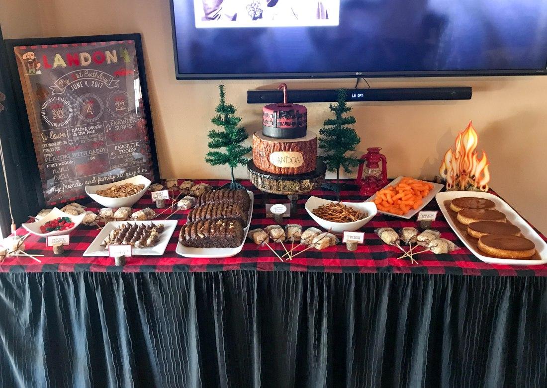 Lumberjack Sweets Table_5